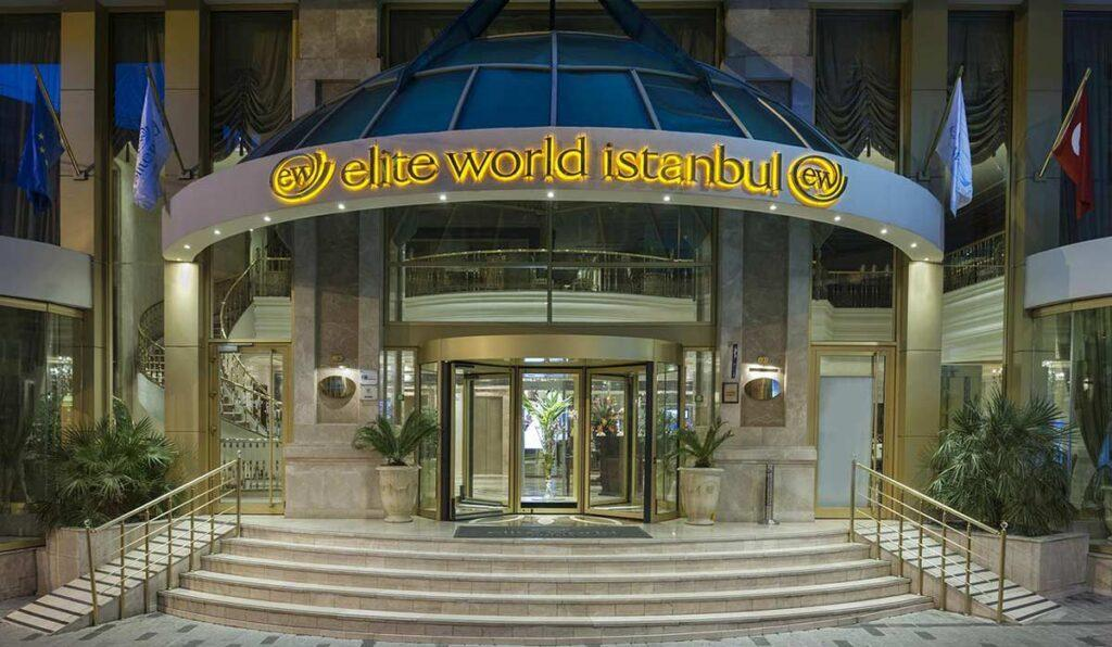 معرفی هتل 5 ستاره Elite world Istanbul hotel استانبول