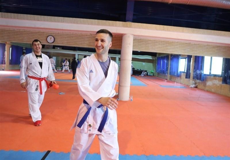 مهدی زاده: در تورنمنت های آخر نشان دادم در وزن جدید نیز حرف برای گفتن دارم، امیدوارم رویاهای کاراته کاها بر باد نرود