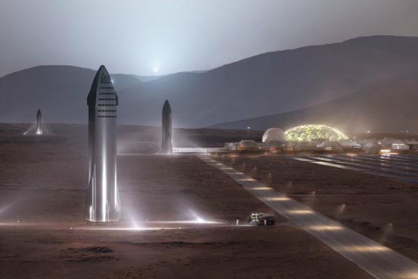 اسپیس اکس برای مأموریت مریخ و کاهش زمان سفرهای زمینی ایستگاه های شناور می سازد