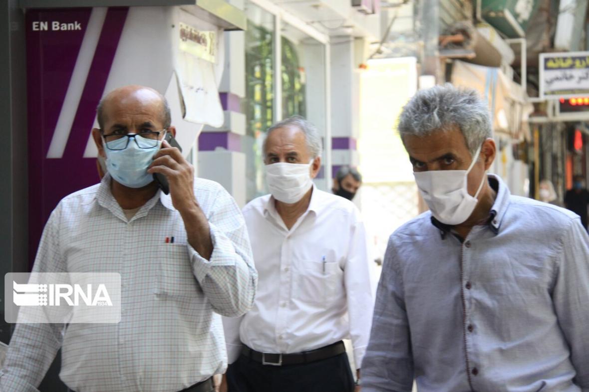 خبرنگاران 60 درصد شهروندان زنجانی از ماسک استفاده می نمایند