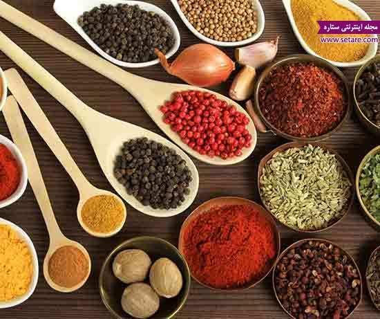 آیا با ادویه جات مخصوص آشپزی آشنا هستید؟